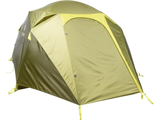 Marmot Limestone 4P Tent, green shadow/moss